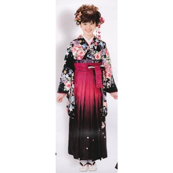 袴 最安値挑戦 ブランドHL 黒地No.100-127