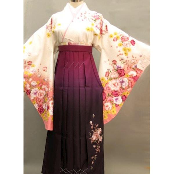 限定刺繍着物・ワンランク上・限定ラインストーン袴|No.136