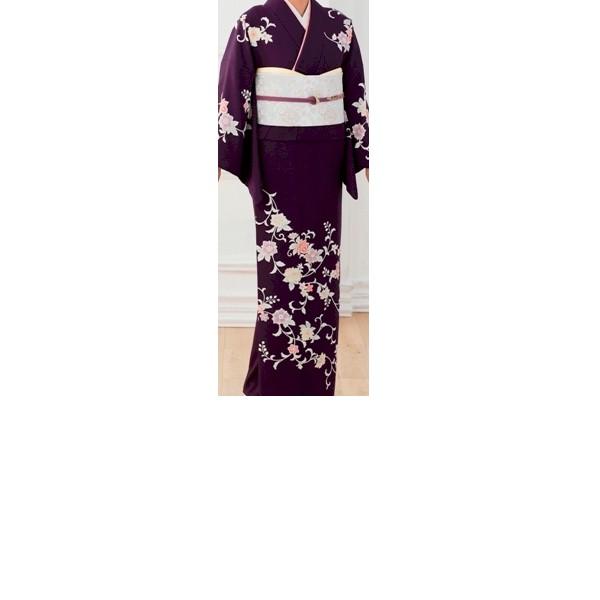 Japanstyle|紺地・花柄|No.200-20