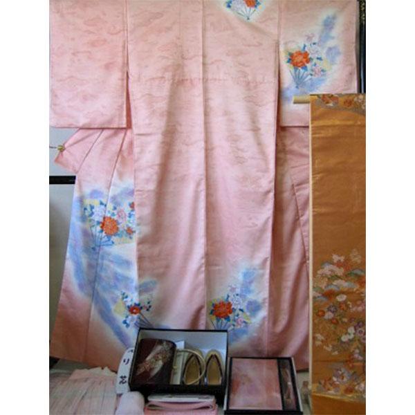 京都|ピンク地・地模様入|No.210