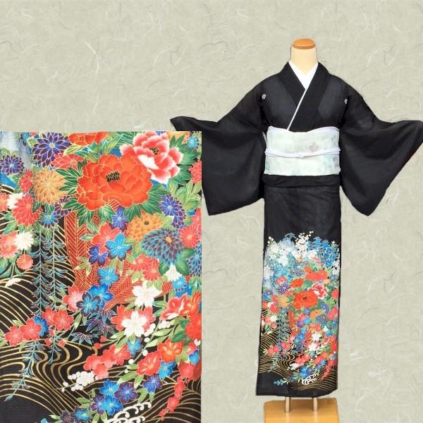 黒留袖|夏絽No.600-3