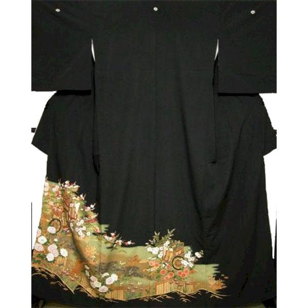黒留袖|東レシルックNo.638