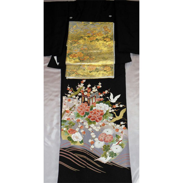 黒留袖|花車No.600-3