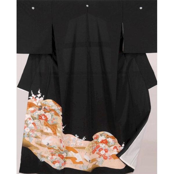 黒留袖|単衣6月・9月|No.693