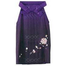 ジュニア袴|紫グラデーション刺繍No.3